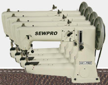 sewpro heavy duty cylinder sewing machine
